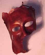 Leather Art 3/4 mask