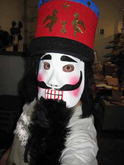 Nutcracker Mask