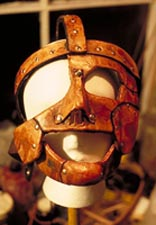Mankind Mask just after it was completed