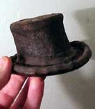 Miniature test model Top Hat  smaller than my hand